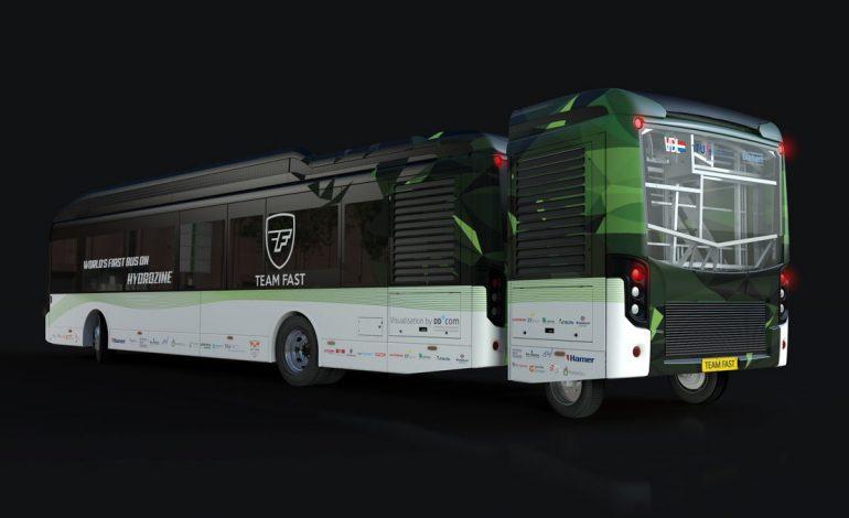 اتوبوسی با سوخت اسید مورچه و بدون نیاز به بنزین ساخته شد