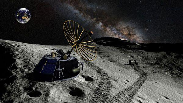 معدنکاوی در کره ماه