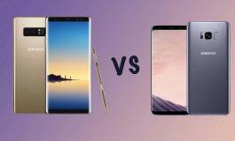 مقایسه گلکسی نوت 8 و گلکسی S8 پلاس؛ نبرد کهکشانیها!