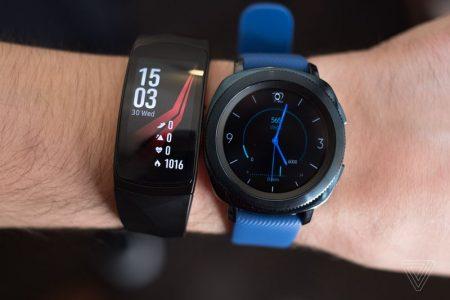 20170830_samsung_wearables_ifa2017_vladsavov_7-450x300 سامسونگ از ساعت هوشمند Gear Sport رونمایی کرد؛ نمایشگر 1.2 اینچی سوپرامولد بههمراه بدنه ضدآب