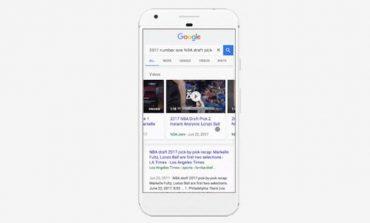 پیشنمایش ویدیو در نتایج جستجوی گوگل