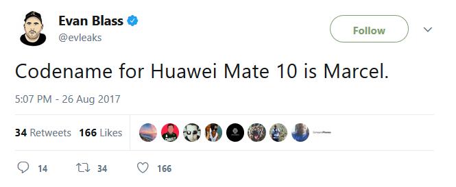 هواوی میت 10