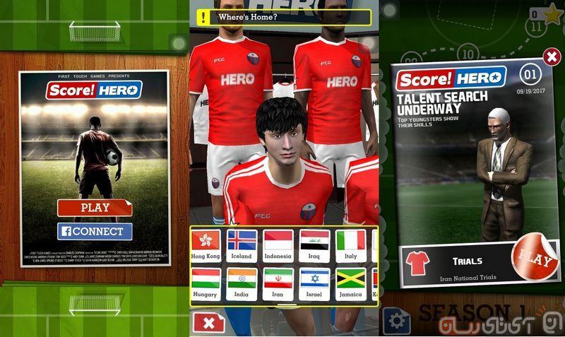 بررسی بازی Score! Hero