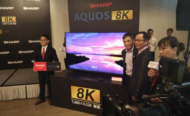 کمپانی شارپ بهزودی تلویزیونهای 8K خود را روانه بازار خواهد کرد