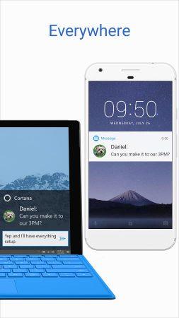 Cortana-for-Android-1-253x450 نسخه جدید کورتانا با چندین قابلیت جدید در گوگل پلی قرار گرفت