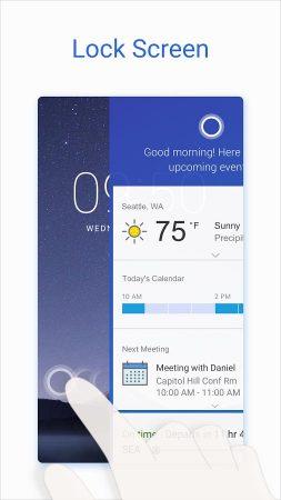Cortana-for-Android-2-253x450 نسخه جدید کورتانا با چندین قابلیت جدید در گوگل پلی قرار گرفت
