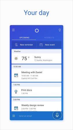 Cortana-for-Android-4-253x450 نسخه جدید کورتانا با چندین قابلیت جدید در گوگل پلی قرار گرفت