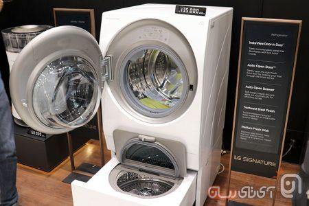 LG-Signature-11-450x300 امضای جدید الجی در ایران: محصولات سوپر لوکس کرهای وارد کشور شد!