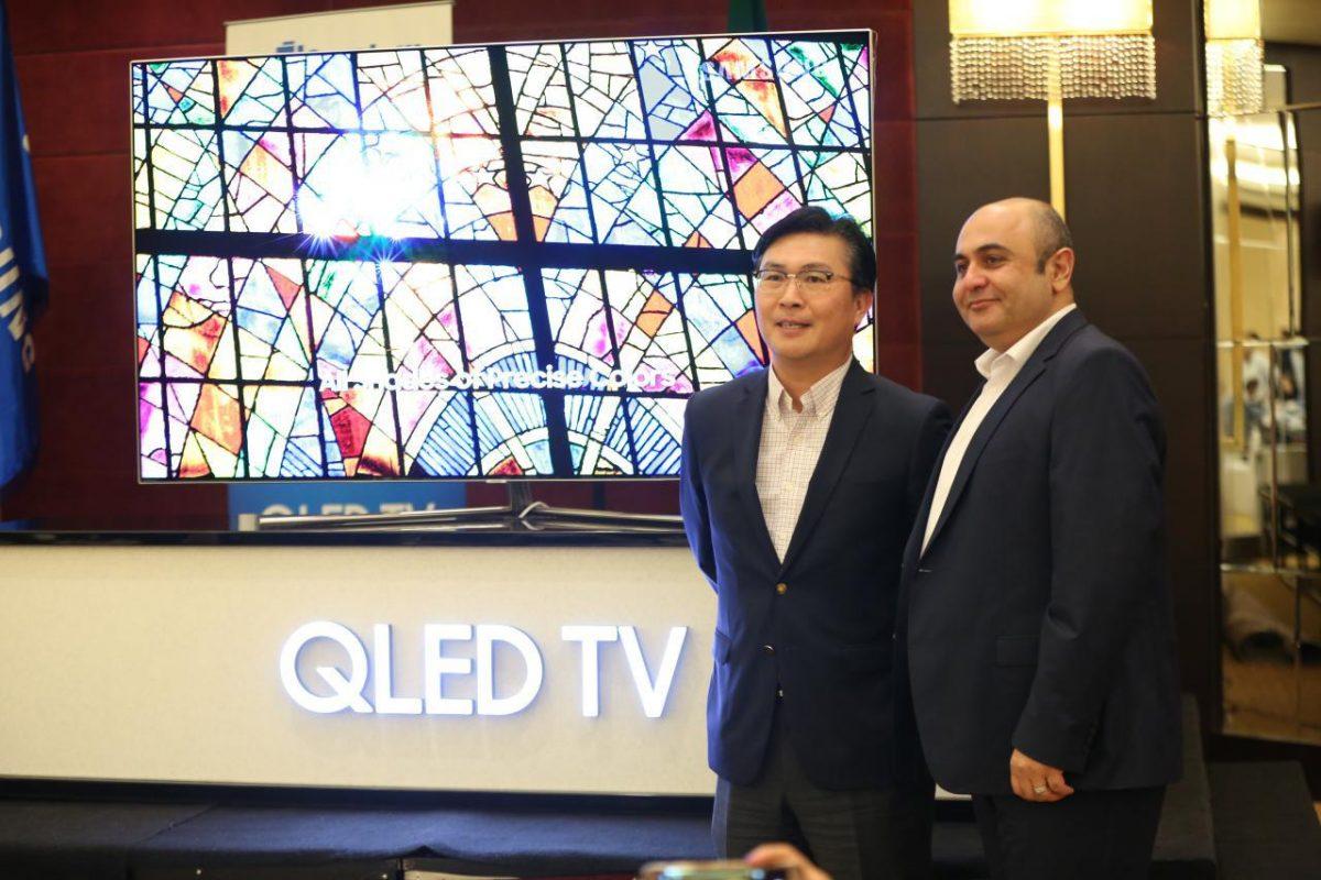 سامسونگ از جدیدترین تلویزیونهای خود در ایران رونمایی کرد!