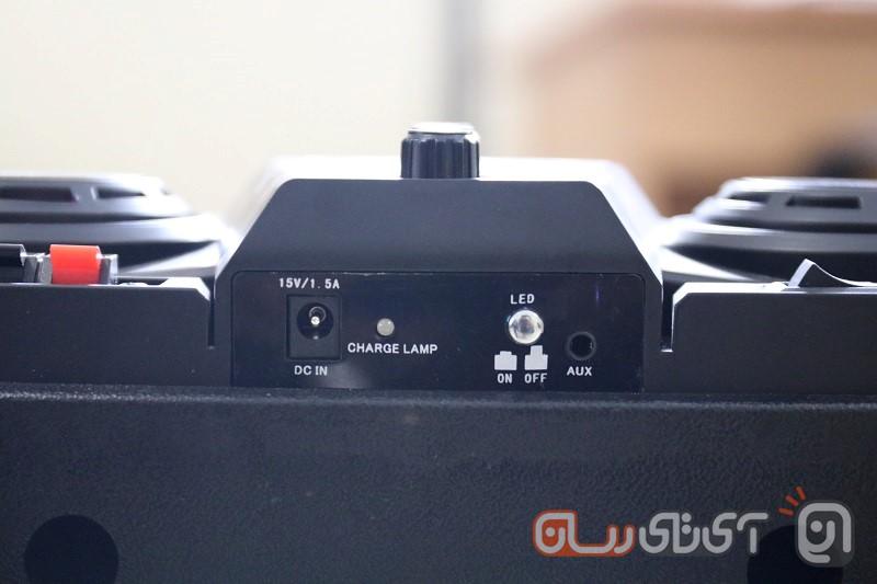 TSCO-TS-1900-Review-6 بررسی اسپیکر بلوتوث تسکو مدل TS 1900: چمدان سخنگو!
