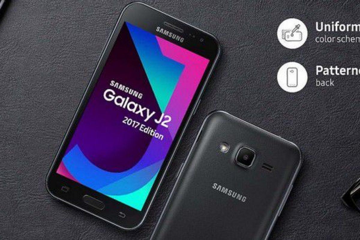 گوشی پایینرده گلکسی J2 2017 معرفی شد؛ نمایشگر ۴.۷ اینچی و پردازنده ۴ هستهای