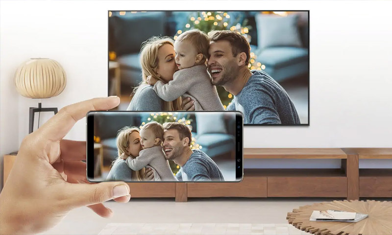متصل کردن گوشیهای سامسونگ به تلویزیون