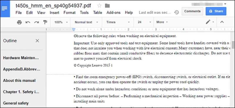 كپي كردن متن از pdf ترفند کامپیوتر تبدیل pdf به word بدون نرم افزار تبدیل pdf به word آنلاین بهترین ترفندها آموزش رایگان