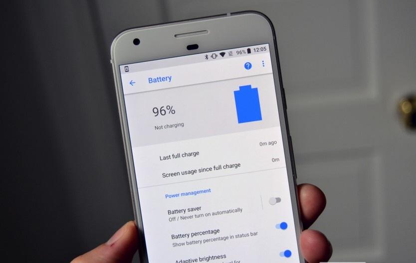 اپلیکیشن باتری گوگل