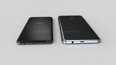 Galaxy-A5-A7-2018-6-450x255 رندرهای جدیدی از سامسونگ  گلکسی A5 و گلکسی A7 نسخه 2018 منتشر شد