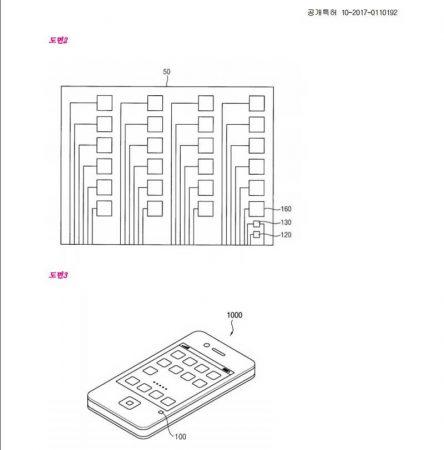 Samsung-patents-environmental-sensor-444x450 احتمال مجهز شدن گلکسی S9 به سنسور تشخیص کیفیت هوای محیط