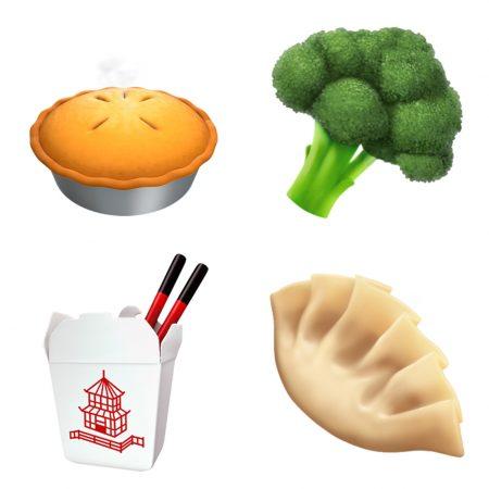 apple-emoji-update-2017-food-450x450 اموجیهای جدیدی به همراه iOS 11.1 به iMessage افزوده خواهد شد