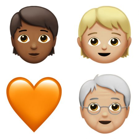 apple-emoji-update-2017-genderless-450x450 اموجیهای جدیدی به همراه iOS 11.1 به iMessage افزوده خواهد شد