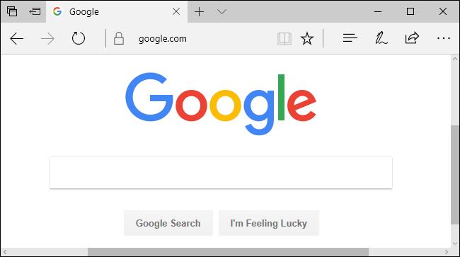 تغییر موتور جستوجوی مایکروسافت اج