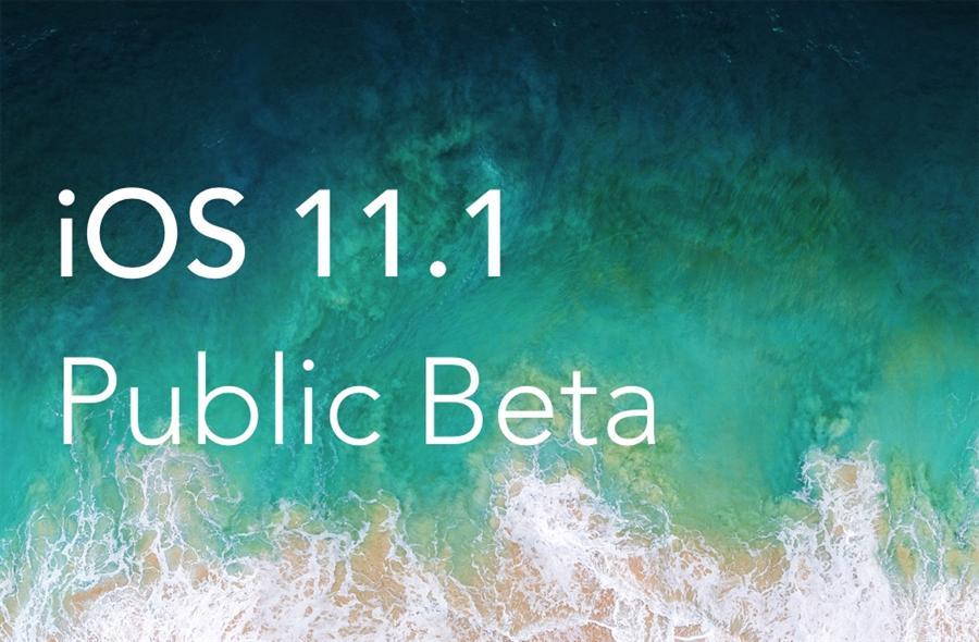نسخه آزمایشی iOS 11.1