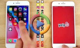 مقایسه سرعت آیفون 7 و آیفون 8 پلاس اپل (ویدئو اختصاصی)