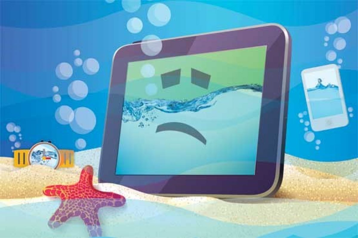۷ راهکار مفید برای محافظت از دستگاههای الکترونیکی در برابر آب