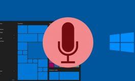 نحوه استفاده از فرمان صوتی در ویندوز 10