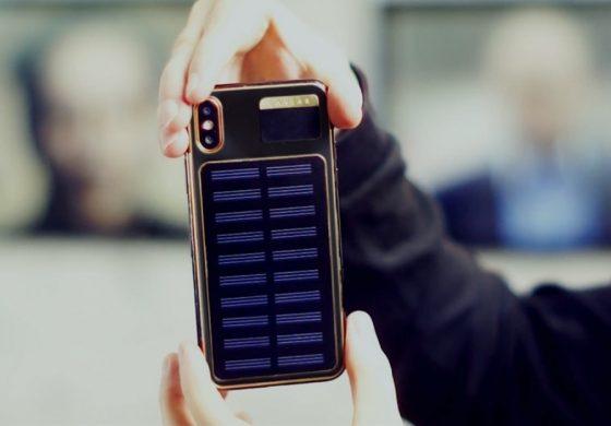 محصول جدید تولیدی شرکت Caviar: آیفون X مجهز به پنلهای خورشیدی