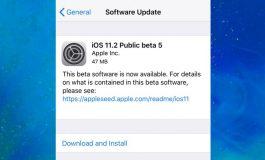 تغییرات و ویژگیهای جدید پنجمین نسخه بتای عمومی سیستمعامل iOS 11.2