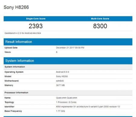 سونی H8266