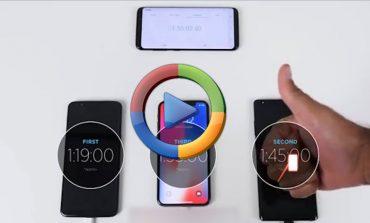 مقایسه سرعت شارژ شدن گلکسی نوت 8 با آیفون X و وانپلاس 5T (ویدئو اختصاصی)