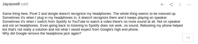 google-pixel-adapter-problem-1 آداپتور هدفون گوگل پیکسل 2 برای برخی از کاربران کار نمیکند!