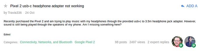 google-pixel-adapter-problem-2 آداپتور هدفون گوگل پیکسل 2 برای برخی از کاربران کار نمیکند!