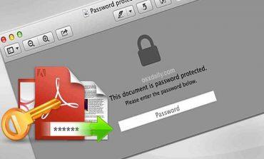 چگونه برای فایلهای پیدیاف رمز عبور بگذاریم؟