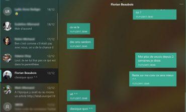 استفاده از زبان طراحی ساده و روان در اپلیکیشن پیامرسانی شرکت مایکروسافت