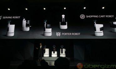 الجی از رباتهای خدماتی جدید خود در نمایشگاه CES 2018 رونمایی کرد