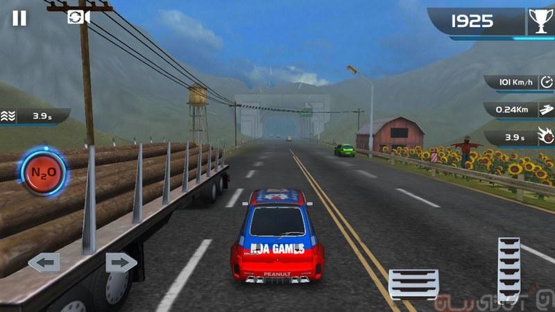 بازی Shadow Racer