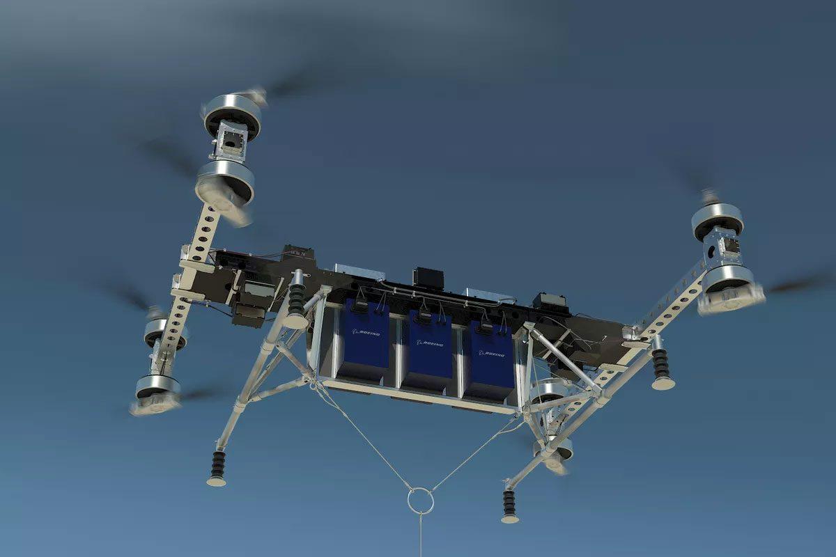 هیولای بوئینگ: پهپادی با توانایی حمل یک محموله ۲۲۶ کیلوگرمی