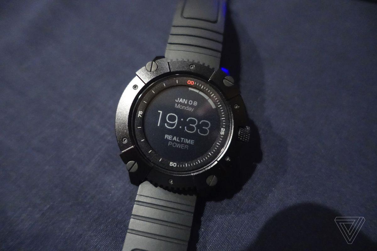 ساعت هوشمندی که با گرمای بدن شما کار میکند!