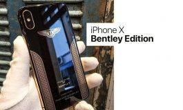 نسخه سفارشی آیفون X بنتلی عرضه شد