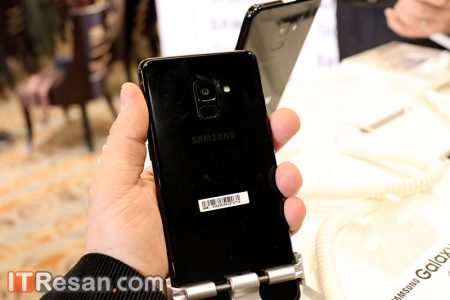 Galaxy-A8-Seminar-3-450x300 گوشیهای سامسونگ گلکسی A8 و A8 پلاس بهصورت رسمی در ایران رونمایی شد!