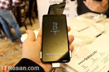 Galaxy-A8-Seminar-4-450x300 گوشیهای سامسونگ گلکسی A8 و A8 پلاس بهصورت رسمی در ایران رونمایی شد!