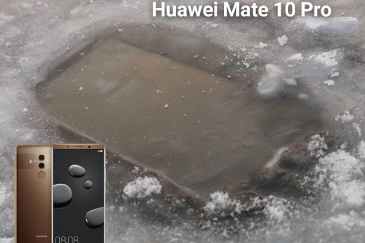 هواوی میت ۱۰ پرو در زیر یک دریاچه یخ زده نیز کار میکند!