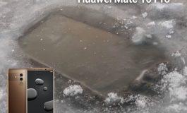 هواوی میت 10 پرو در زیر یک دریاچه یخ زده نیز کار میکند!