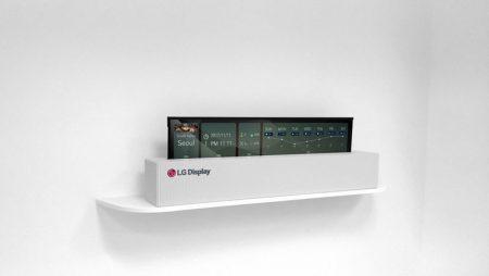 OLED TV rolls
