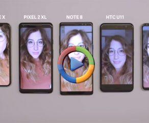 مقایسه دوربین سلفی 5 گوشی برتر دنیا (ویدیوی اختصاصی)