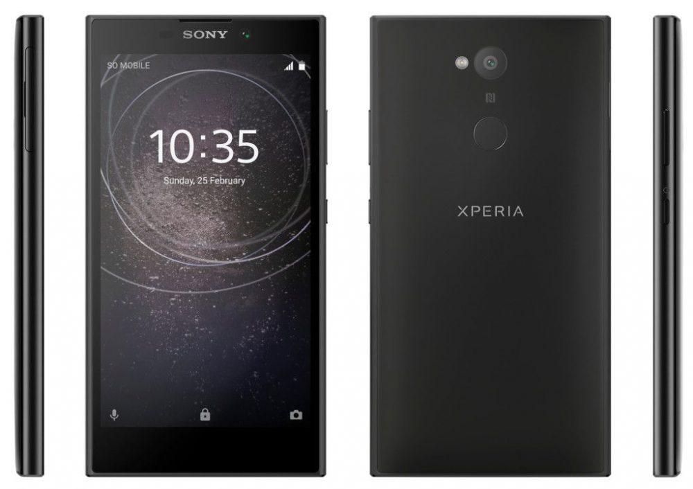 Sony-Xperia-L2-1000x706 تصاویری از اسمارت فونهای میانرده سونی منتشر شد؛ انتقال اسکنر اثر انگشت به قاب پشتی!