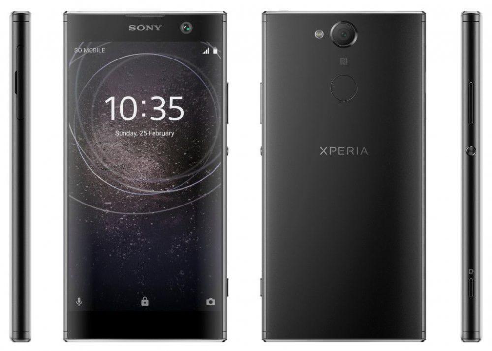 Sony-Xperia-XA2-1000x714 تصاویری از اسمارت فونهای میانرده سونی منتشر شد؛ انتقال اسکنر اثر انگشت به قاب پشتی!