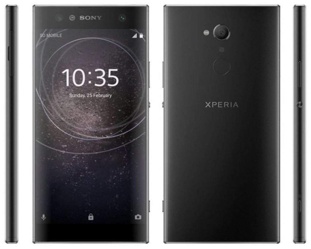 Sony-Xperia-XA2-Ultra-1-1000x800 تصاویری از اسمارت فونهای میانرده سونی منتشر شد؛ انتقال اسکنر اثر انگشت به قاب پشتی!