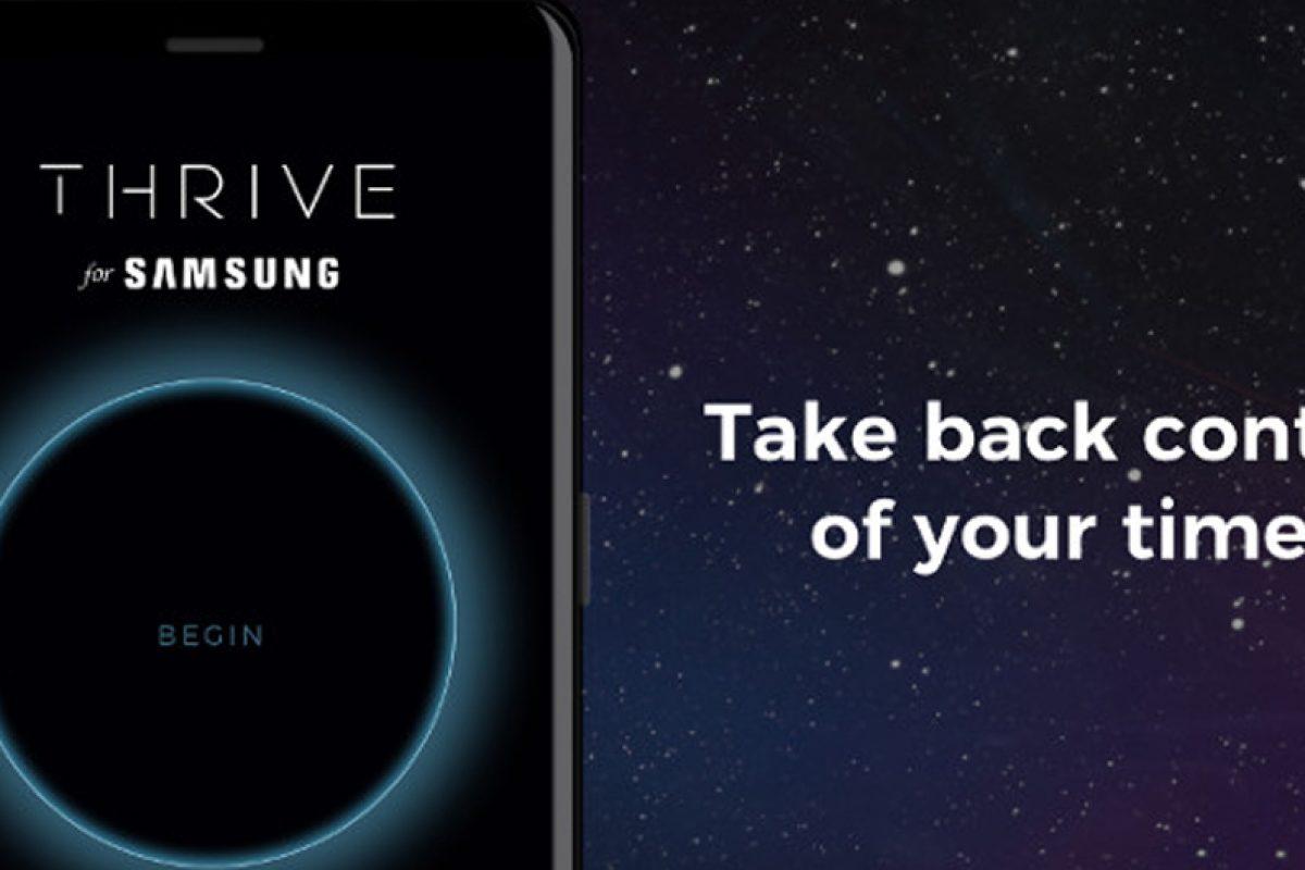 با اپلیکیشن Thrive در گلکسی نوت ۸ زمان خود را مدیریت کنید!
